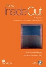 New Inside Out Pre-Intermediate. Workbook with Audio-CD and Key | Sue Kay |