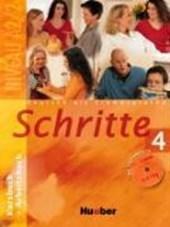 Schritte 4. Kursbuch und Arbeitsbuch mit Audio-CD zum Arbeitsbuch