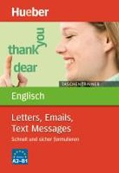 Taschentrainer Englisch. Letters, Emails, Text Messages