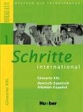 Schritte international 1. Glosario XXL Deutsch-Spanisch - Alemán-Español