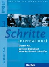 Schritte international 3. Glossar XXL Deutsch - Slowakisch