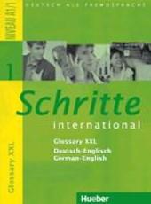 Schritte international 1. Glossar XXL Deutsch-Englisch