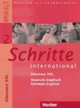 Schritte international 2. Niveau A1/2 / Glossar XXL Deutsch-Englisch, Glossary German-English | auteur onbekend |
