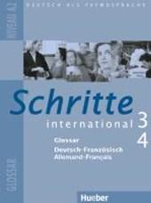 Schritte international 3+4. Niveau A2. Glossar Deutsch-Französisch Allemand-Français