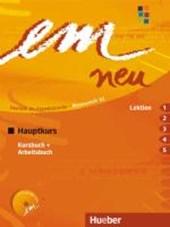 em neu 2008 Hauptkurs Kursbuch, Arbeitsbuch , Lektion 1 - 5 mit Arbeitsbuch-Audio-CD