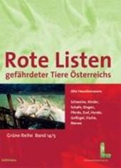 Rote Listen gefährdeter Tiere Österreichs: Alte Haustierrassen