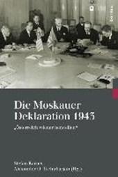 Die Moskauer Deklaration