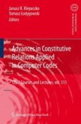 Advances in Constitutive Relations Applied in Computer Codes | auteur onbekend |