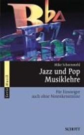 Jazz und Pop Musiklehre