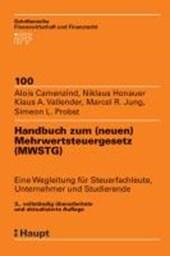 Handbuch zum Mehrwertsteuergesetz (MWSTG)
