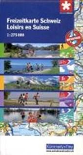 KuF Schweiz Freizeitkarte 1 : 275.000