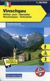 KuF Italien Outdoorkarte 01 Vinschgau 1 : 50.000