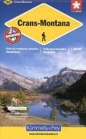 KuF Schweiz Wanderkarte 32 Crans-Montana 1 : 60.000