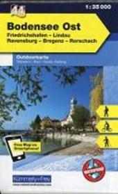 KuF Deutschland Outdoorkarte 44 Bodensee Ost 1:35.000