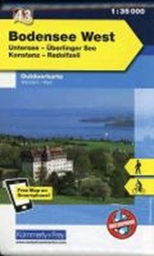 KuF Deutschland Outdoorkarte 43 Bodensee West 1 : 35.000
