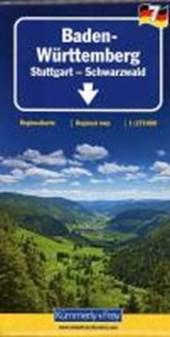 KuF Deutschland Regionalkarte 07. Baden Württemberg 1 :