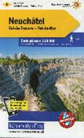 KuF Schweiz Wanderkarte 08 Neuchatel - Val-de-Travers - Val-de-Ruz / Neuenburg - Val-de-Travers - Val-de-Ruz 1 :