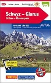KuF Schweiz Radkarte 12 Schwyz - Glarus 1 :