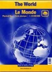 KuF Die Welt. Physikalische Karte 1 :