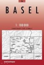 Swisstopo 1 : 100 000 Basel
