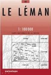 Swisstopo 1 : 100 000 Le Léman