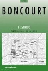 Swisstopo 1 : 50 000 Boncourt