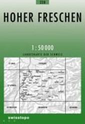 Swisstopo 1 : 50 000 Hoher Freschen
