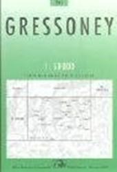 Swisstopo 1 : 50 000 Gressoney