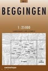 Swisstopo 1 : 25 000 Beggingen