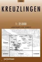 Swisstopo 1 : 25 000 Kreuzlingen