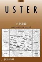 Swisstopo 1 : 25 000 Uster