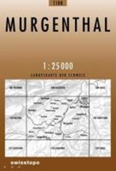 Swisstopo 1 : 25 000 Murgenthal