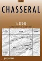 Swisstopo 1 : 25 000 Chasseral