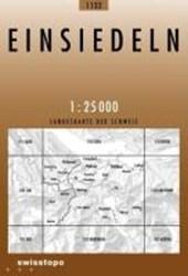 Swisstopo 1 : 25 000 Einsiedeln