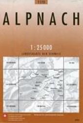 Swisstopo 1 : 25 000 Alpnach
