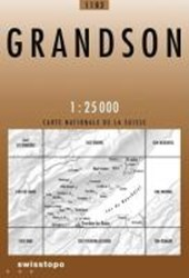 Swisstopo 1 : 25 000 Grandson