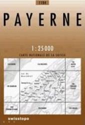 Swisstopo 1 : 25 000 Payerne