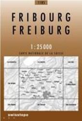 Swisstopo 1 : 25 000 Fribourg / Freiburg