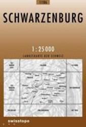 Swisstopo 1 : 25 000 Schwarzenburg