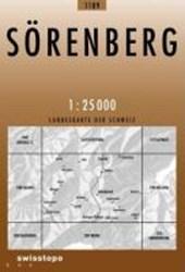 Swisstopo 1 : 25 000 Sörenberg