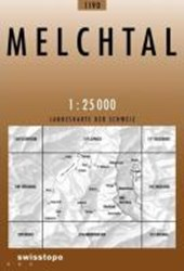 Swisstopo 1 : 25 000 Melchtal