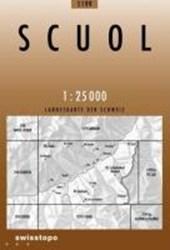 Swisstopo 1 : 25 000 Scuol