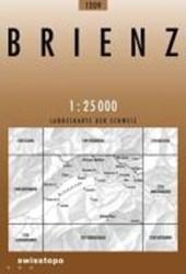 Swisstopo 1 : 25 000 Brienz