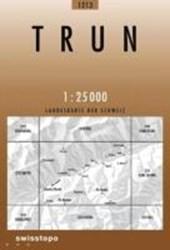 Swisstopo 1 : 25 000 Trun