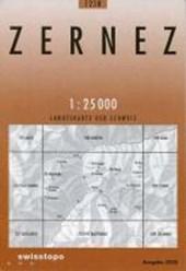 Swisstopo 1 : 25 000 Zernez