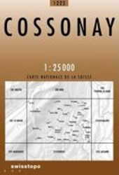 Swisstopo 1 : 25 000 Cossonay