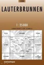 Swisstopo 1 : 25 000 Lauterbrunnen