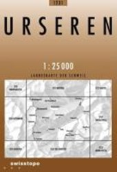Swisstopo 1 : 25 000 Urseren
