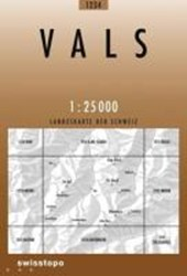 Swisstopo 1 : 25 000 Vals