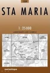 Swisstopo 1 : 25 000 Sta. Maria